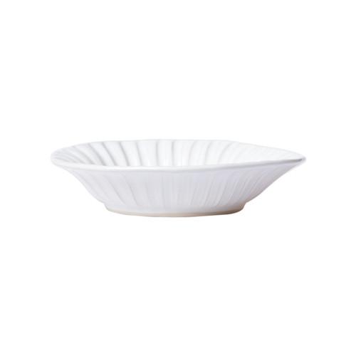 "Vietri Incanto Stone White Pasta Bowl  SINC-W1104A  9.5""D, 2""H"