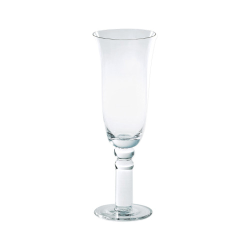 """Vietri Puccinelli Classic Champagne Glass 9.5""""H, 11 oz PGL-5250   For the most casual or elegant occasions, our Puccinelli Classic Clear Water Glass from plumpuddingkitchen.com delivers durability with Italian style."""
