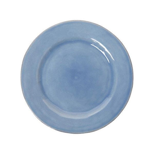 """Juliska Puro Chambray Dessert/Salad Plate  KS02/47 9""""D  The beauty of this dessert/salad plate from plumpuddingkitchen.com lies in its studied simplicity, which makes it perfect for everyday use, but also a must-have layering piece to mix into your table setting repertoire."""