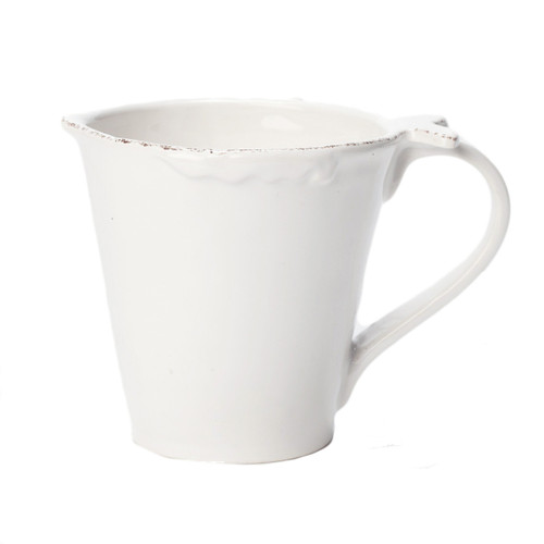 """The Lastra White Fish Mug features charming fish details and clean, sophisticated lines. 4.25""""H, 13.5 oz FSF-2610"""