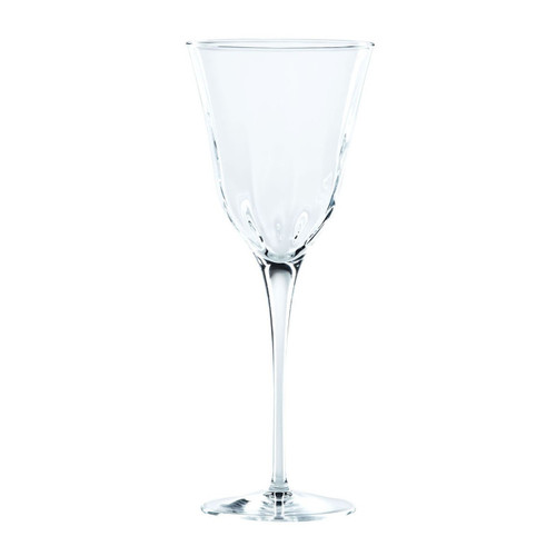 "Elegant lines and a substantial weight give the sense of timeless crystal in the Optical Clear Wine Glass. 9""H, 9 oz OPT-8820CL"
