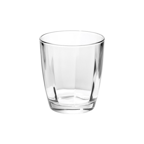 """Elegant lines and a substantial weight give the sense of timeless crystal in the Optical Clear Double Old Fashioned Glass. 4""""H, 10 oz OPT-8812CL"""