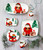 """Vietri Old St Nick Limited Edition 2021 Square Platter  OSN-78111-LE 12"""" Square  Gift Boxed  What could be more whimsical than the individual portraits of Vietri's Old St. Nick, beloved by all Italians!    Each Santa from plumpuddingkitchen.com is created for Vietri from maestro Alessandro Taddei's childhood memories of stories his mother read to him. Made of terra bianca, each portrait is painted directly on the fired surface in Tuscany so that each stroke is seen in detail."""