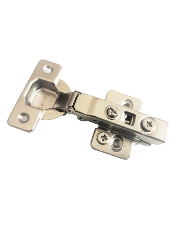 Lotus 110 Degree Full Overlay Soft Closing Hinge With Plate