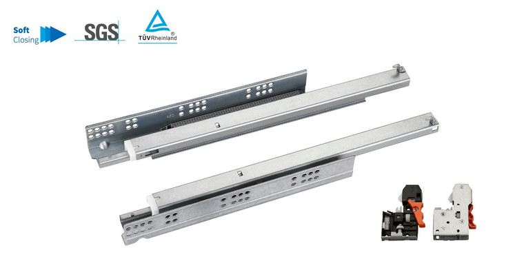 Soft Closing Undermount Drawer Slides