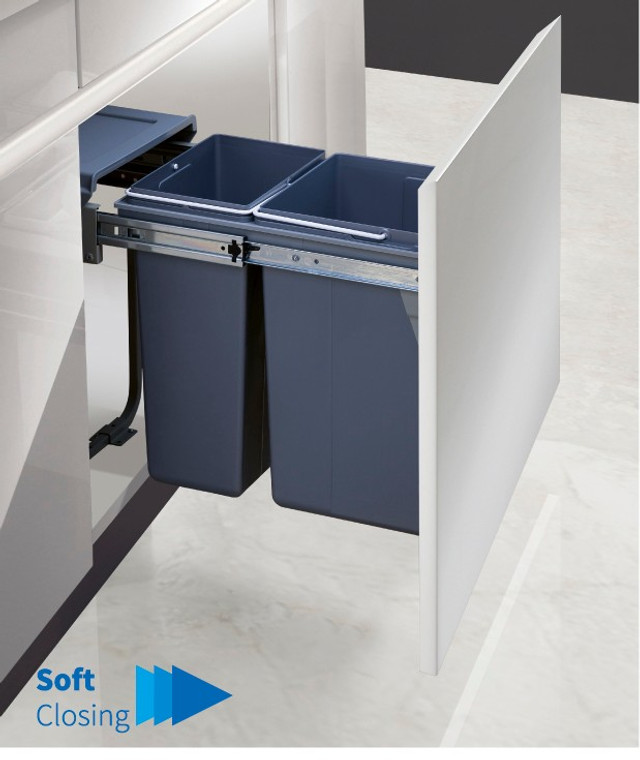 Garbage Bins System - Width 10-1/2 Inches