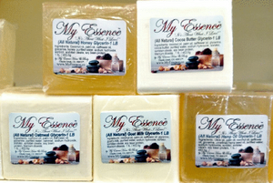 All Natural Moisturizing Glycerin Soaps - 1 LB Bulk