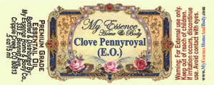 Pure Clove Pennyroyal Essential Oil