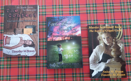 Three book bundle, autographed by the authors!