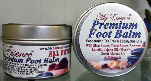 All Natural Premium Foot Balm- 3.5oz