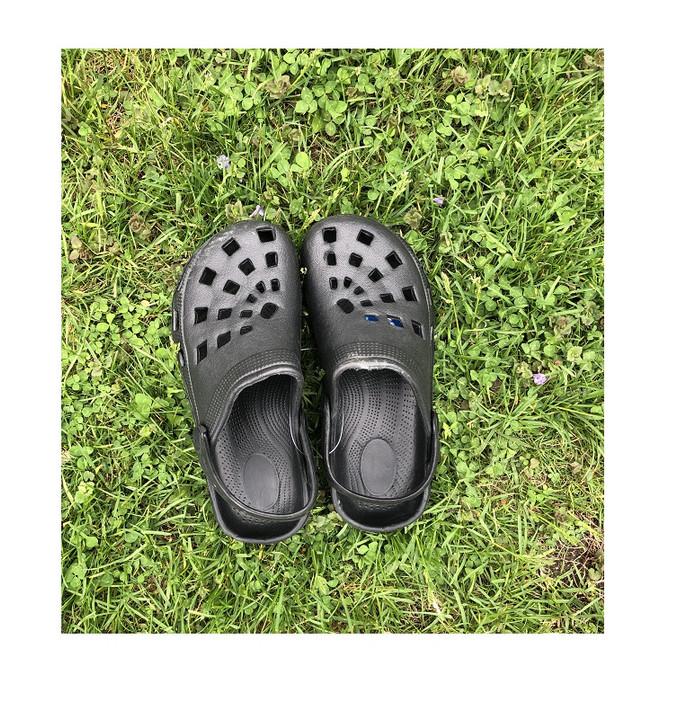 Kid's Easy on Croc Style Sandals - Black