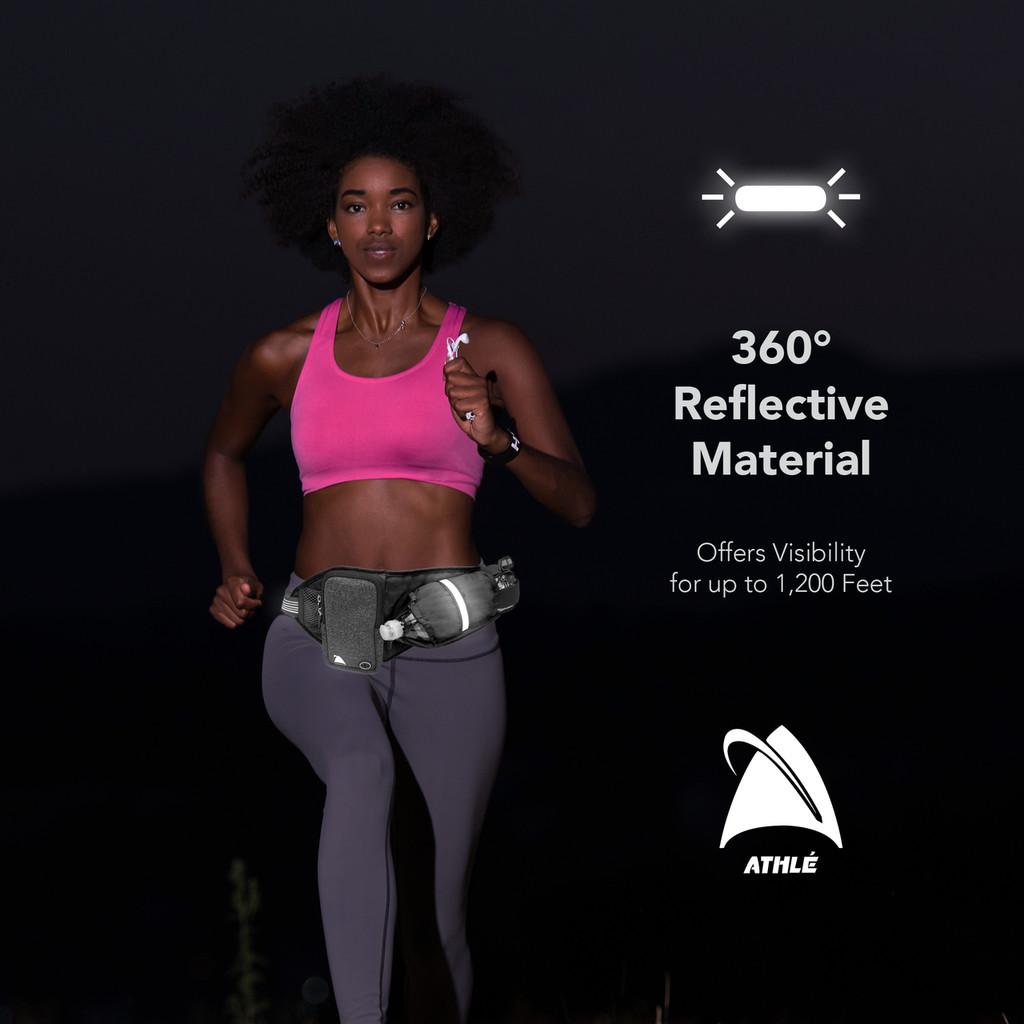Run Belt - Horizontal bottle pocket