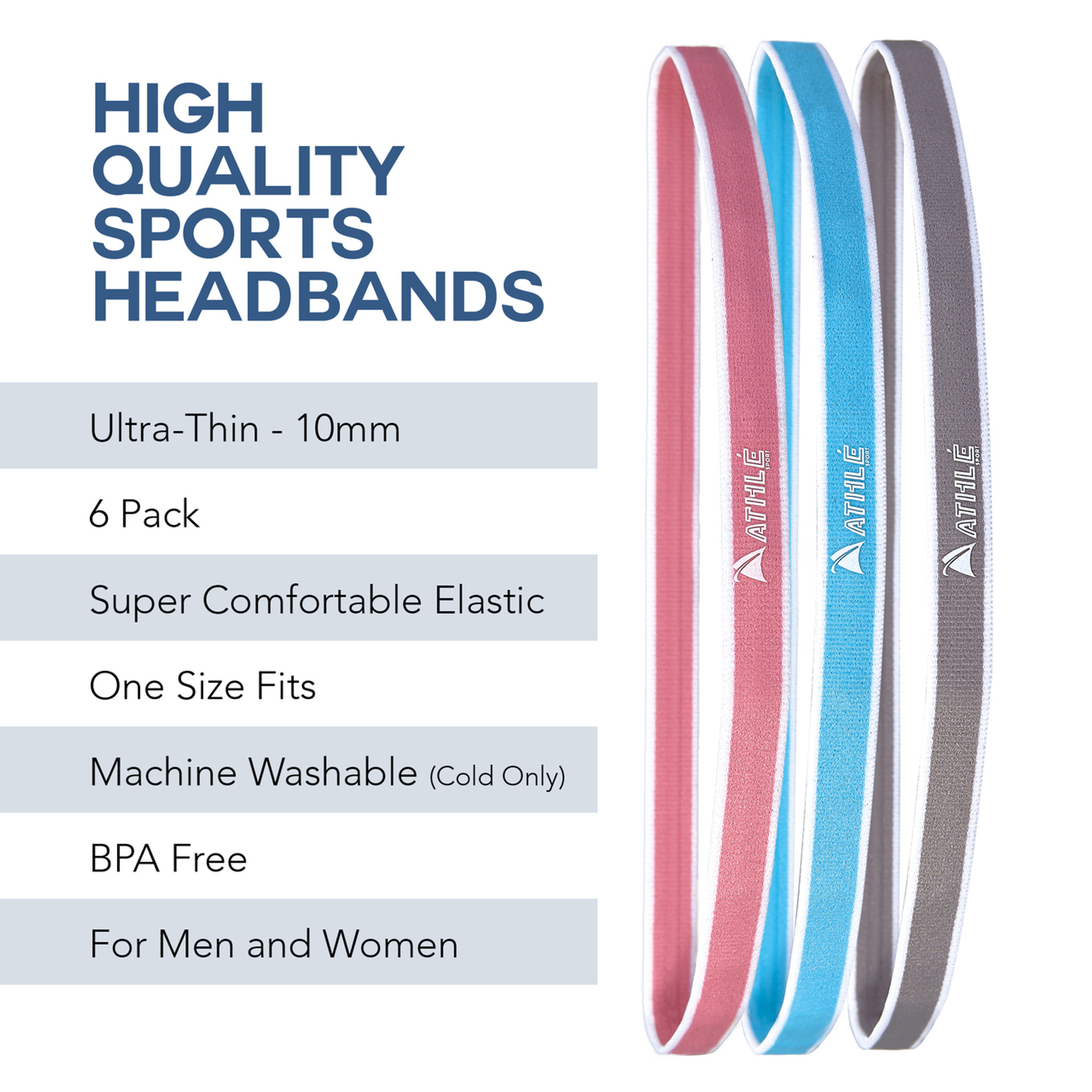 Nonslip Hairbands