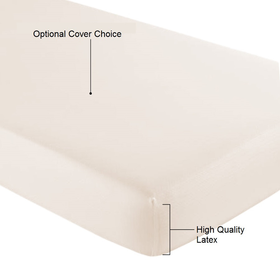 Crib Mattress Topper|Latex Crib Mattress|- Well Living Shop