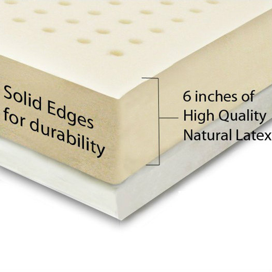 Natural Latex Topper Queen|Natural Latex Mattress Topper Queen -Well Living Shop