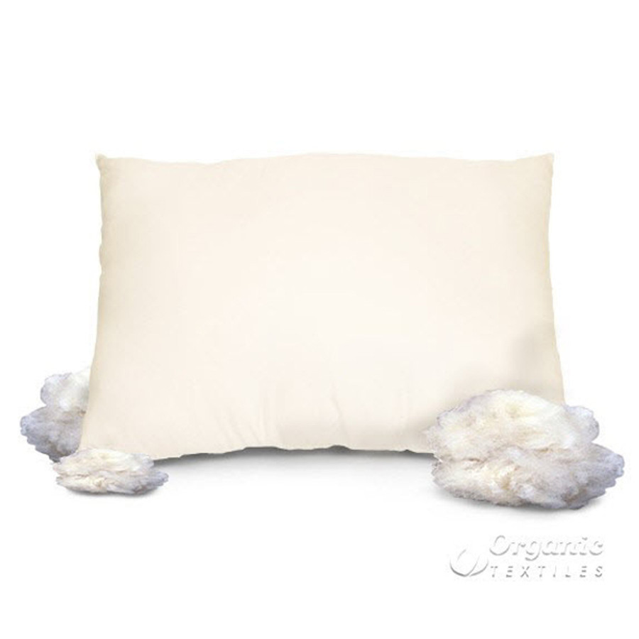 Natural Wool Pillow|Natural Home Australian Pillow|Wool Pillow Organic-WellLiving Shop