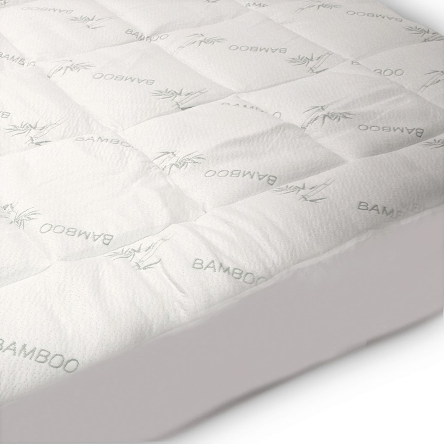 Bamboo Mattress Pad|Luxury Bamboo Mattress Pad|Buy Bamboo Mattress Pad Online - Well Living Shop