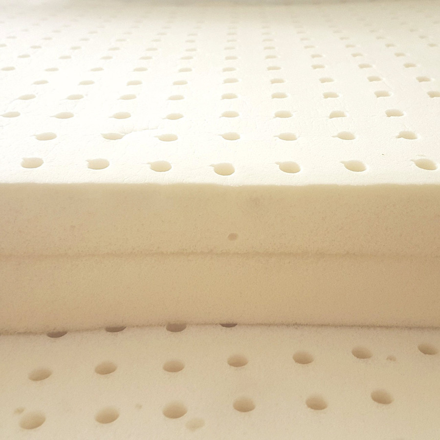 Natural latex Mattress Topper| Organic Latex Mattress Topper|Natural Latex Topper- Well Living Shop