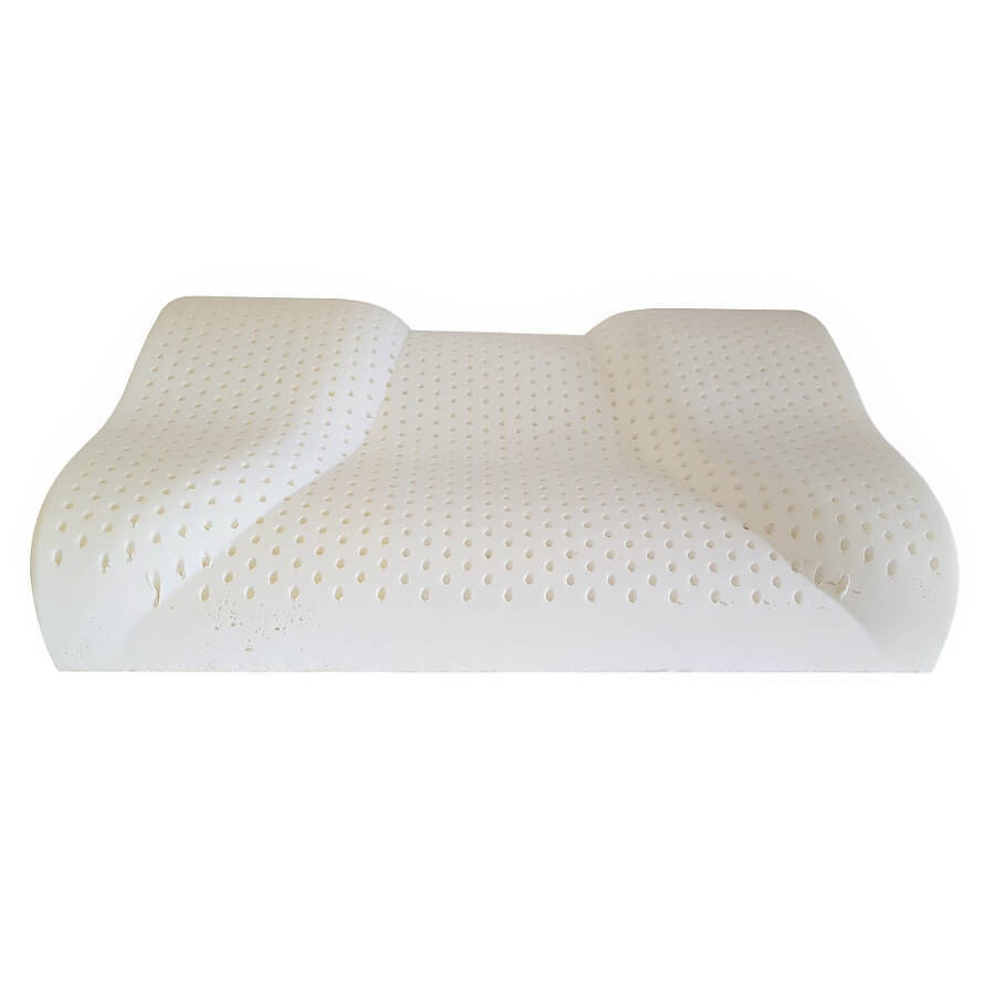 Contour Latex Pillows|Side to back sleeper pillow|Side To Back Special  Countour Pillow-Well Living Shop