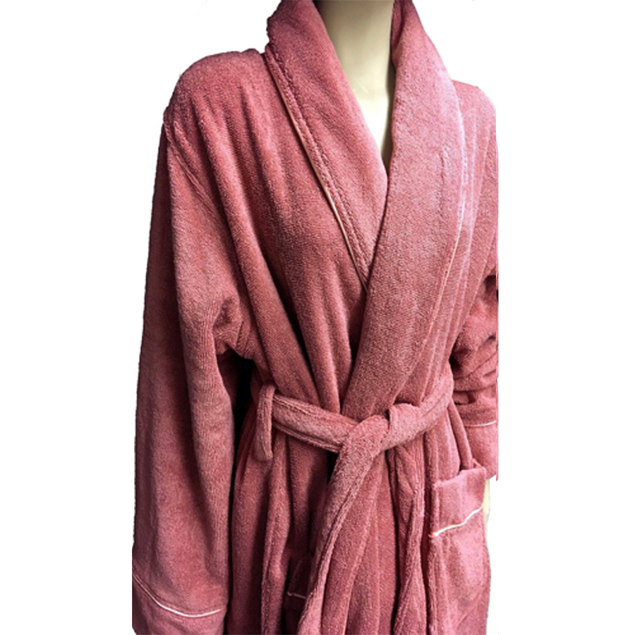 Organic Cotton Bathrobe | Buy Organic Cotton Bathrobe online | Organic Bathrobes- Well Living Shop