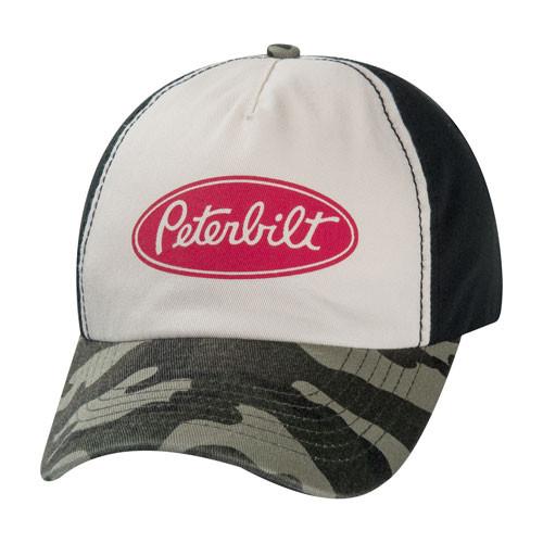 Peterbilt Vintage Camo Cap