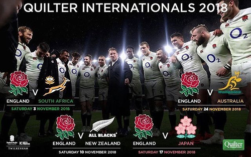 Quilter Cup Autumn Internationals England Vs Japan