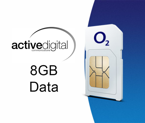 SIM ONLY - O2 Small Biz 8GB