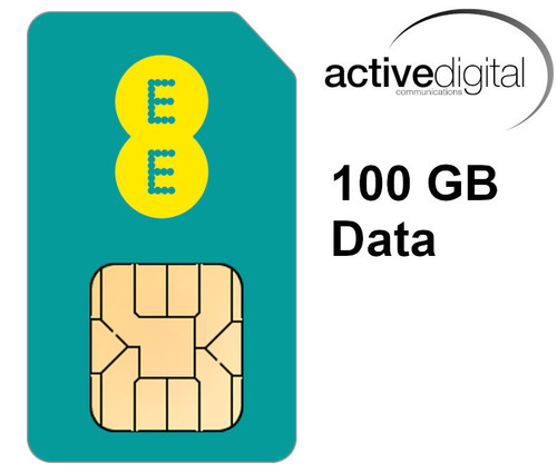 SIM ONLY - EE 100GB