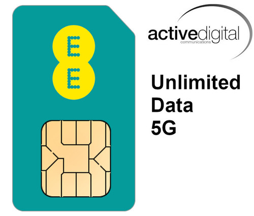 SIM ONLY - EE 5G Unlimited Data