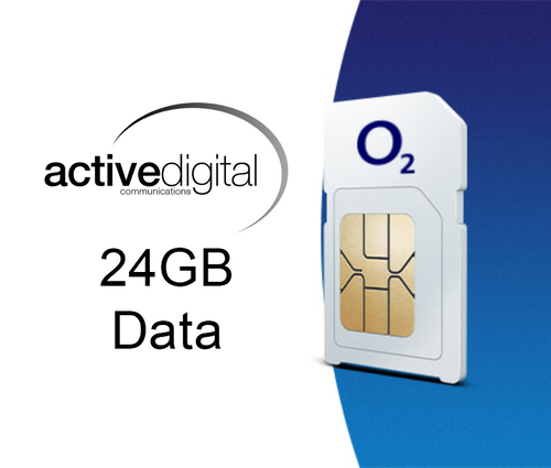 SIM ONLY - O2 Small Biz 24GB - Limited Offer