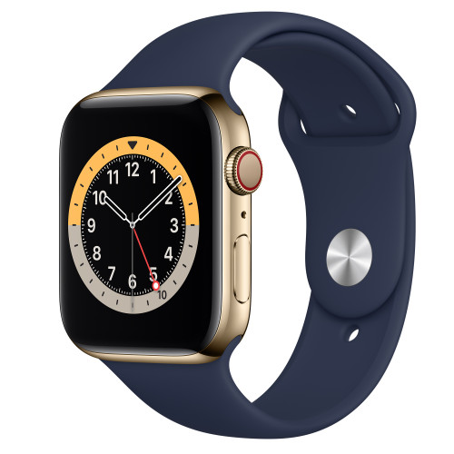 Apple Watch 6 Stainless Steel - Cellular 4G