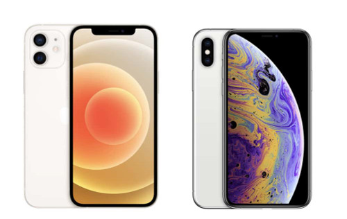 iPhone 12 & XS for Family of 4 (£131 per month O2 Line Rental)