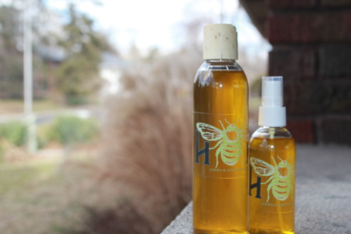 Herbal and honey-infused hand sanitizer