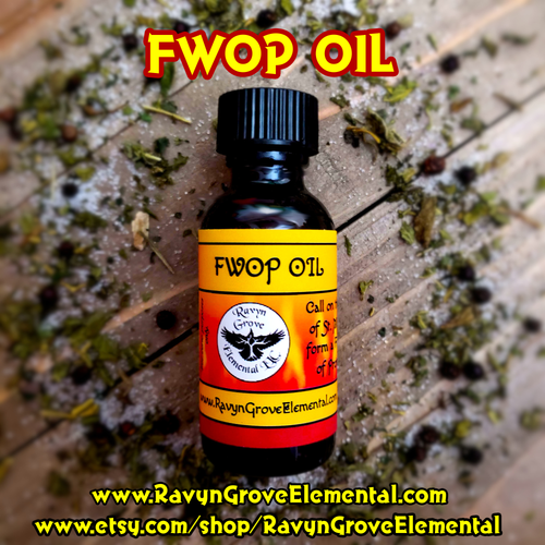 Use Ravyn Grove Elemental's FWOP Fiery Wall of Protection Oil to Call on the Power of St. Michael to protect yourself, your property, & your friends/family. Use to send any works, curses, evil eyes, or ill intentions back to its source & to burn its source under St. Michael's fiery sword.