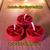 Pentacle Altar Ritual Pagan Wicca Witchcraft Shamanic Solomonic Conjure Hoodoo Tealights crafted by Ravyn Grove Elemental LLC. Set of 3 Red Tealights.