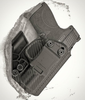 M&P Shield Appendix Carry Kydex Holster