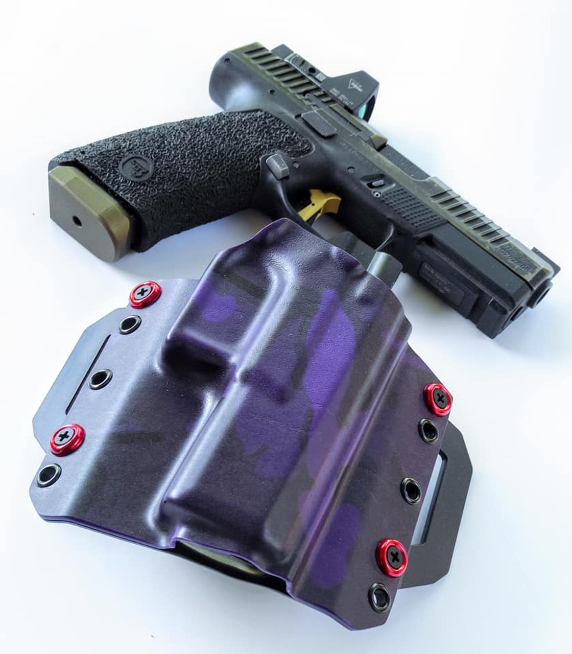 CZ P10c Outside Waistband Kydex Holster