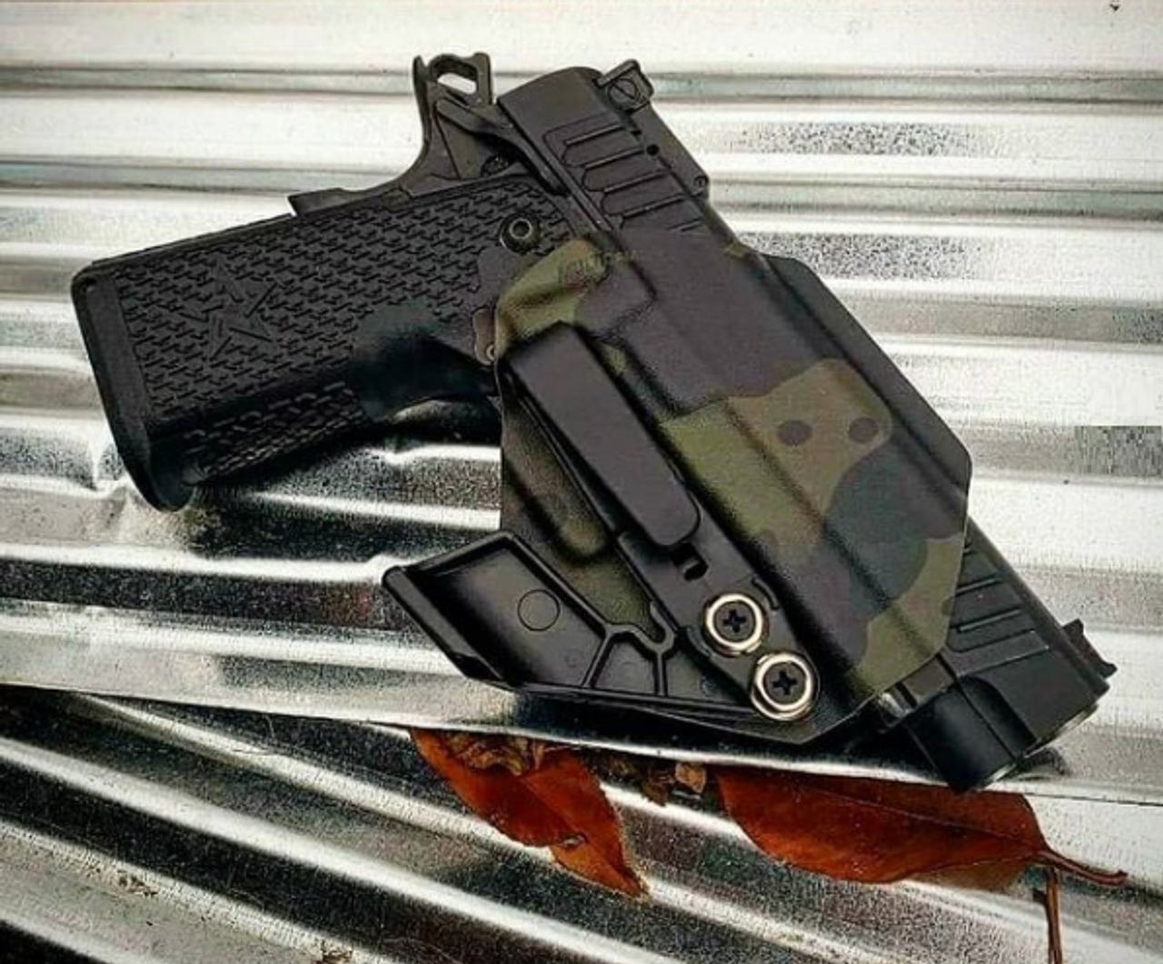 PRO TACTICAL GUN HOLSTER IWB CONCEALED FITS SPRINGFIELD ARMORY 1911 EMP 9mm
