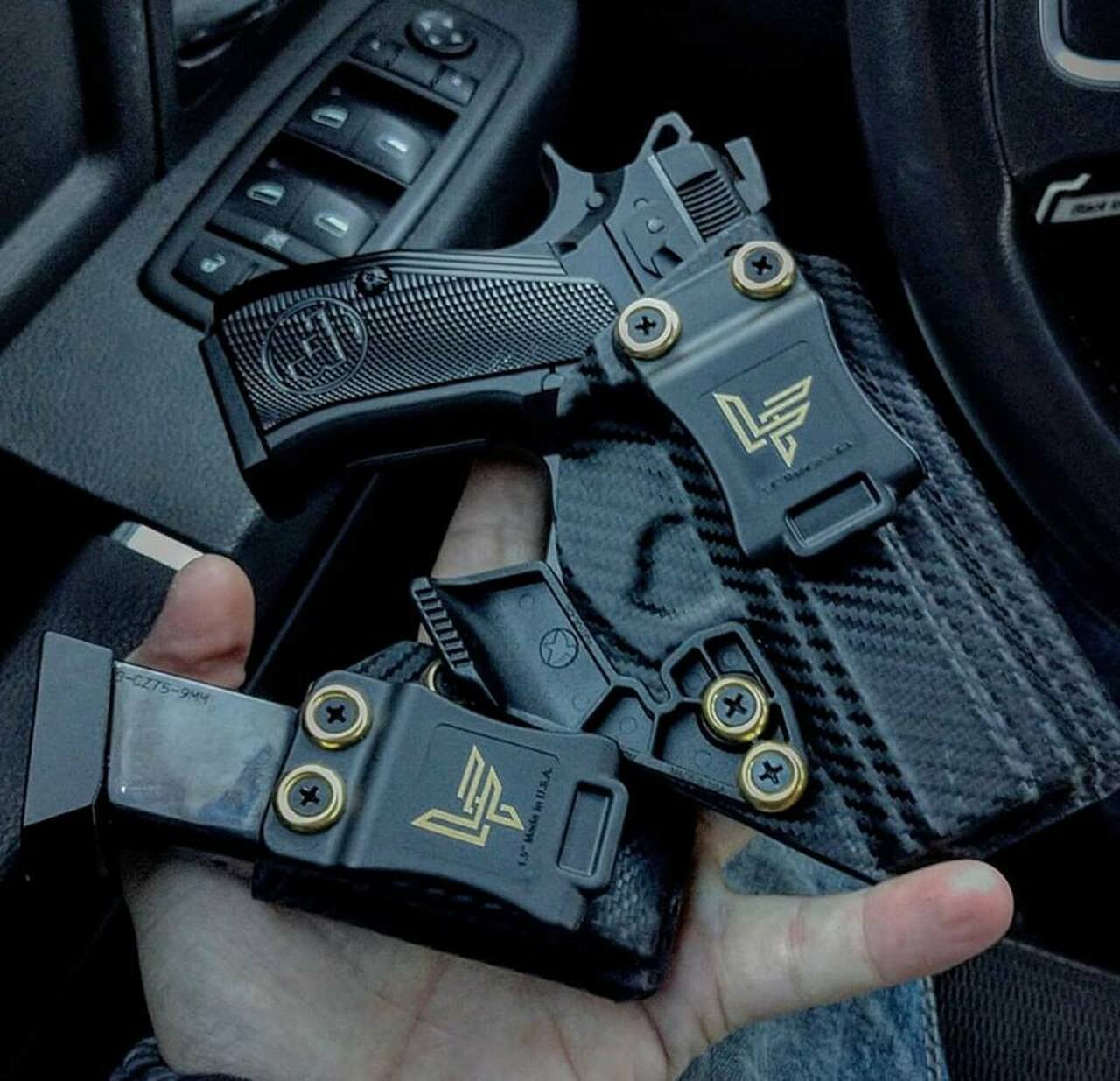 CZ P-01 Kydex Holster and Magazine Carrier