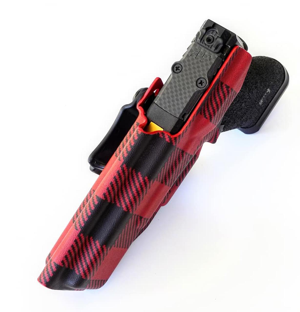 Glock 17 Appendix Carry Kydex Holster RMR Cut
