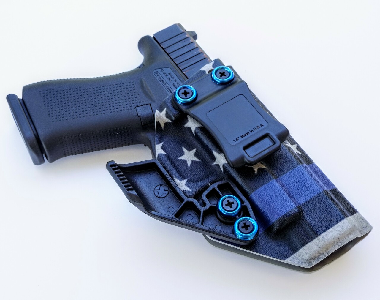 Glock 48 Thin Blue Line Holster