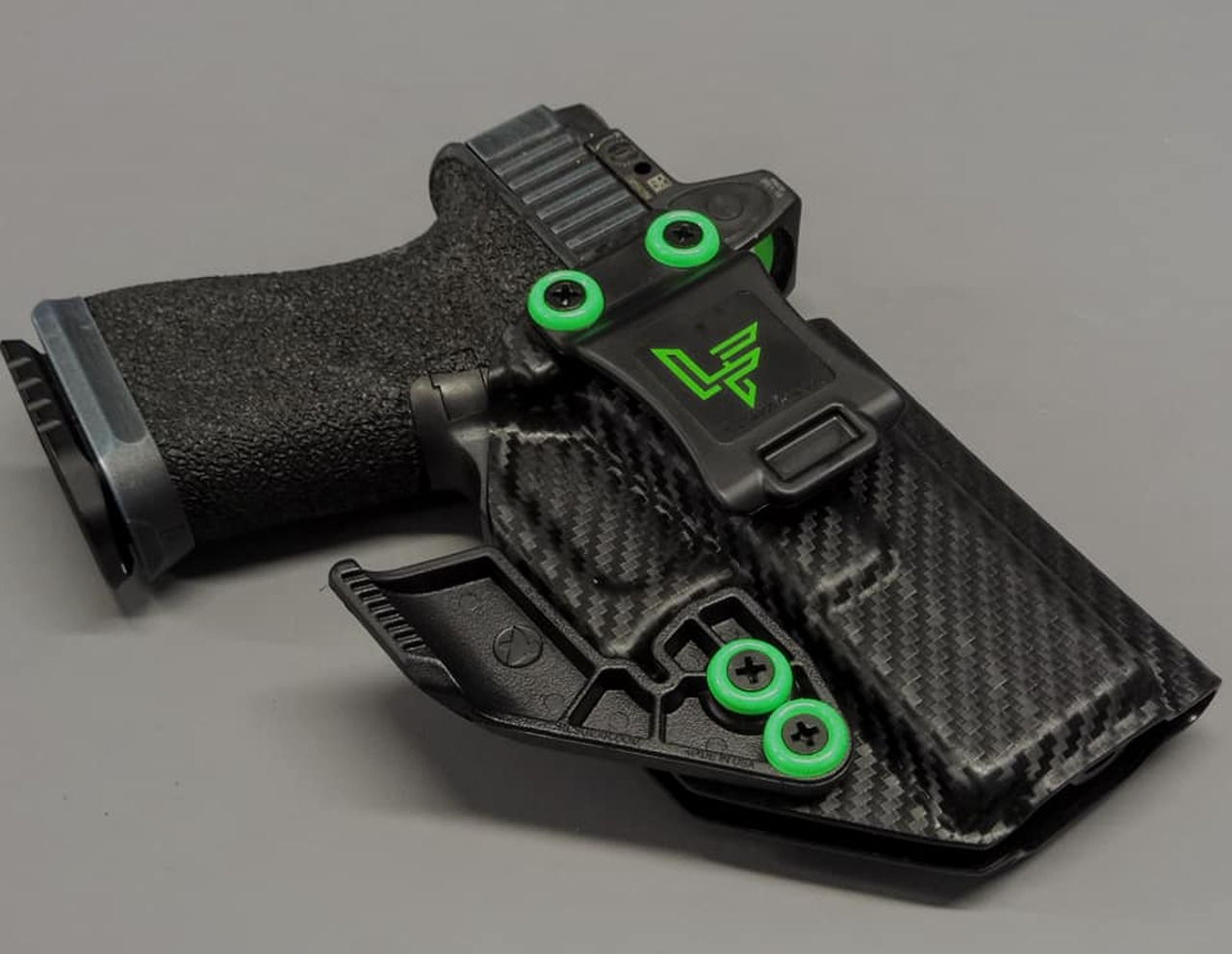 Glock 19 Carbon Fiber  Inside Waistband Holster