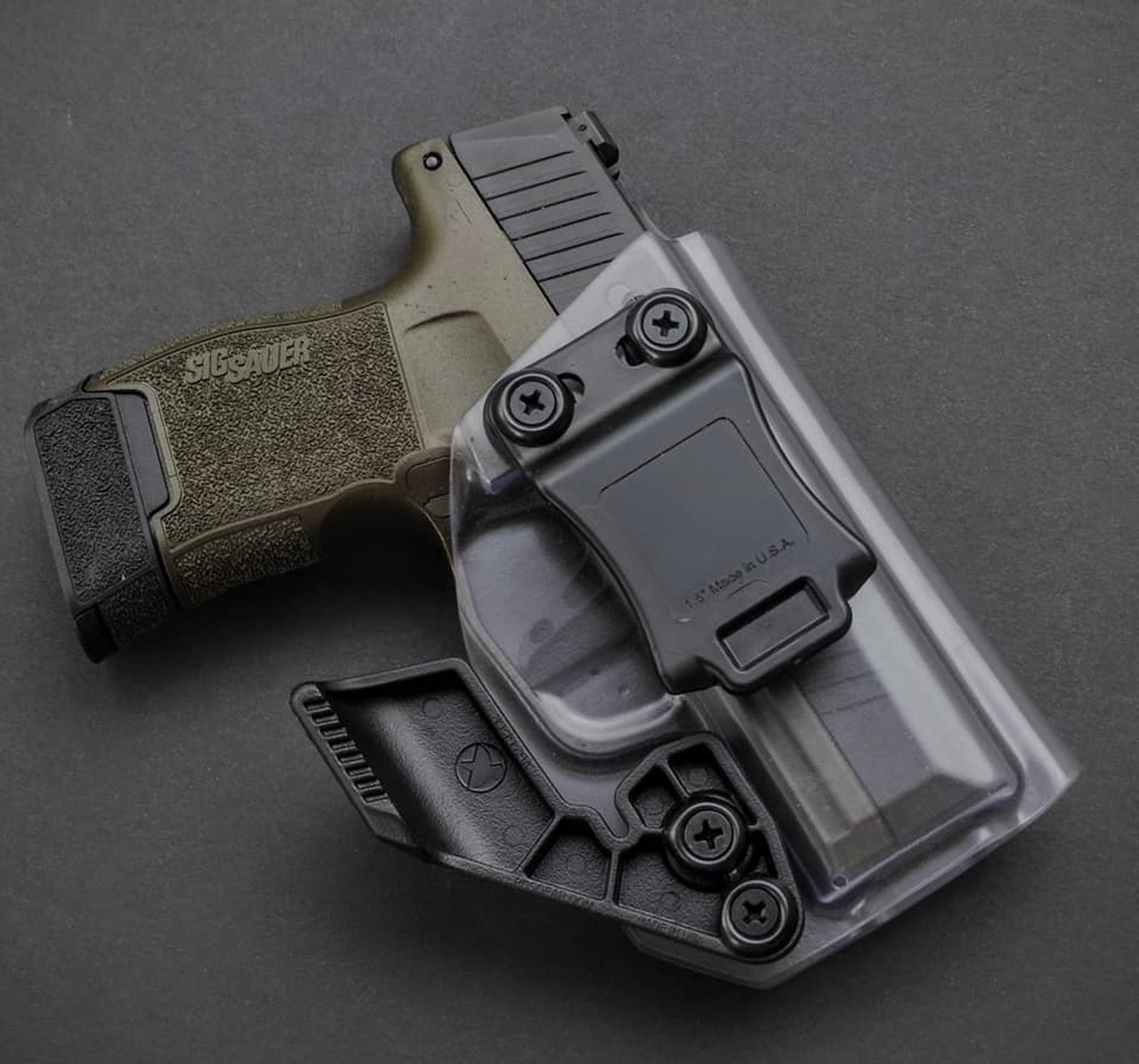 Sig P365 Clear Holster