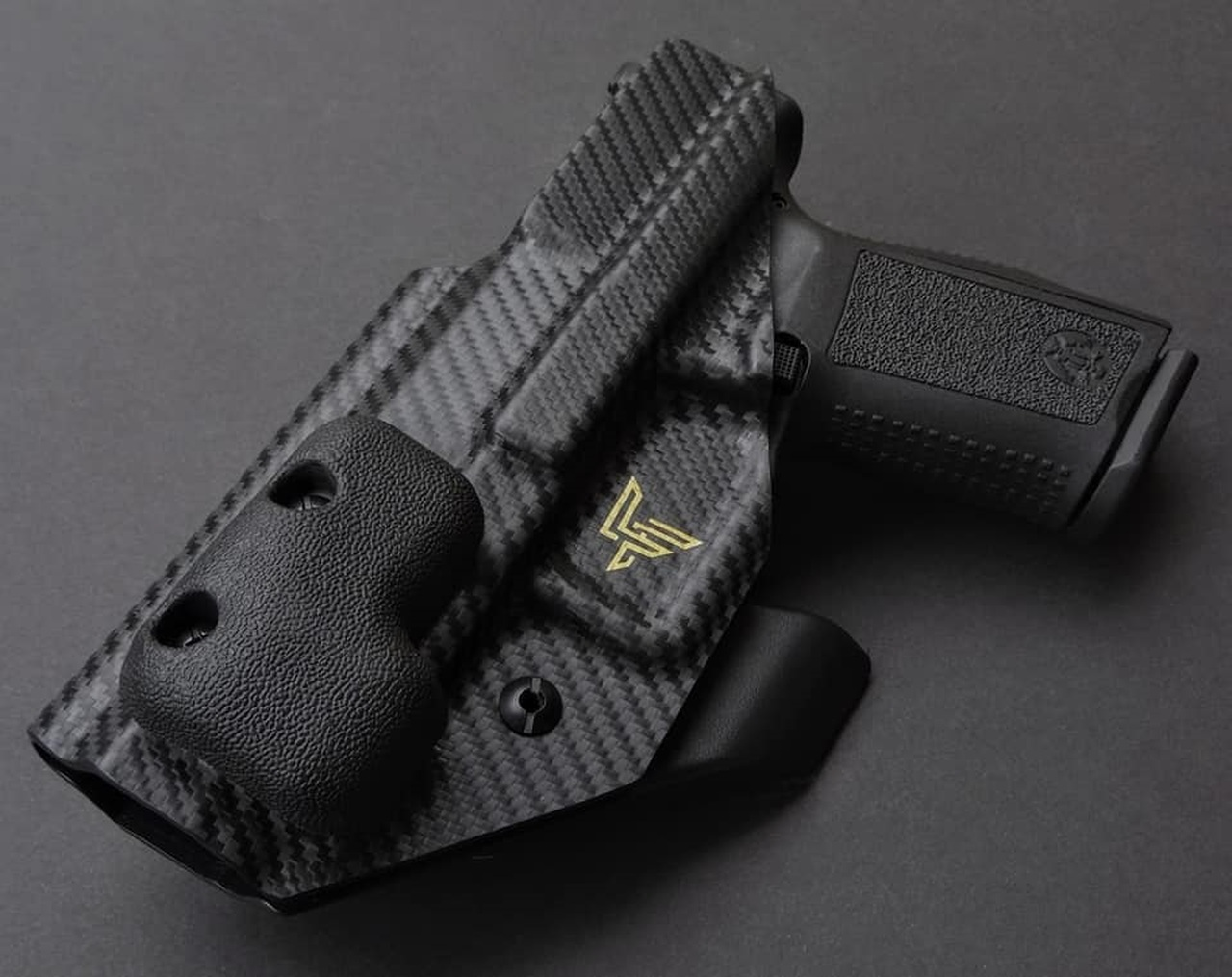 Appendix Carry Holster with Wedge