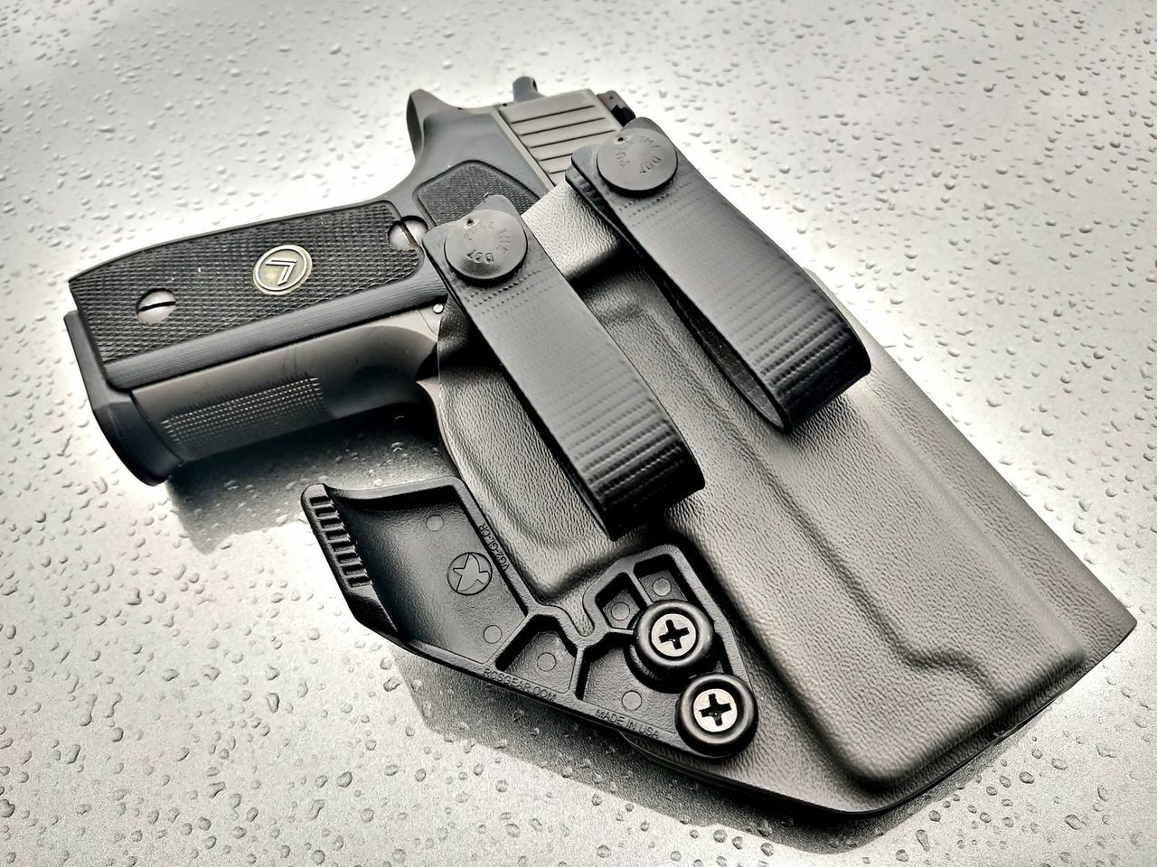 Sig P229 Appendix Carry Holster with Soft Loops