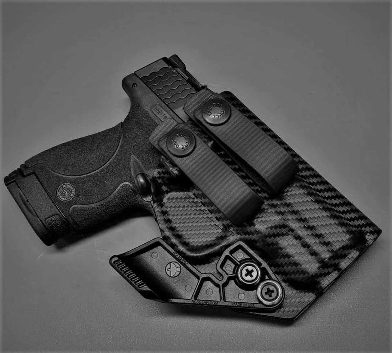 M&P Shield Appendix Carry Holster with Soft Loops