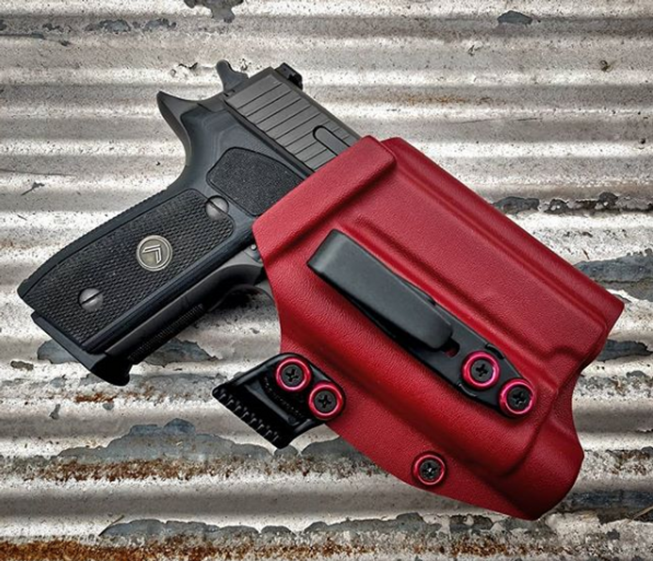 Sig P229 with Streamlight TLR1 HL Appendix Carry Holster