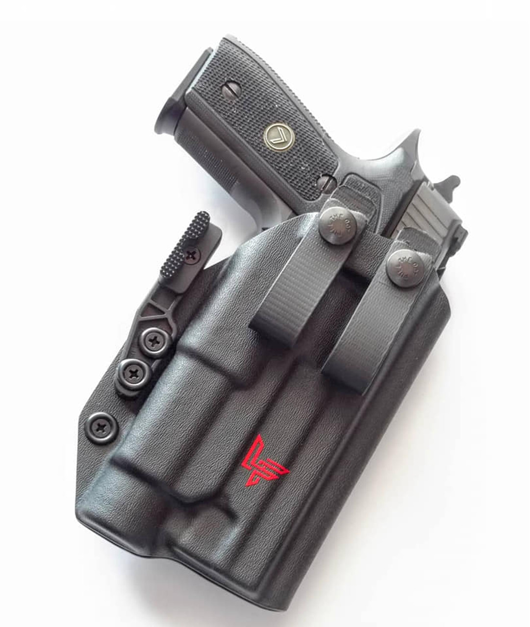 Sig P226 Legion with Streamlight TLR1 HL Appendix Carry Holster