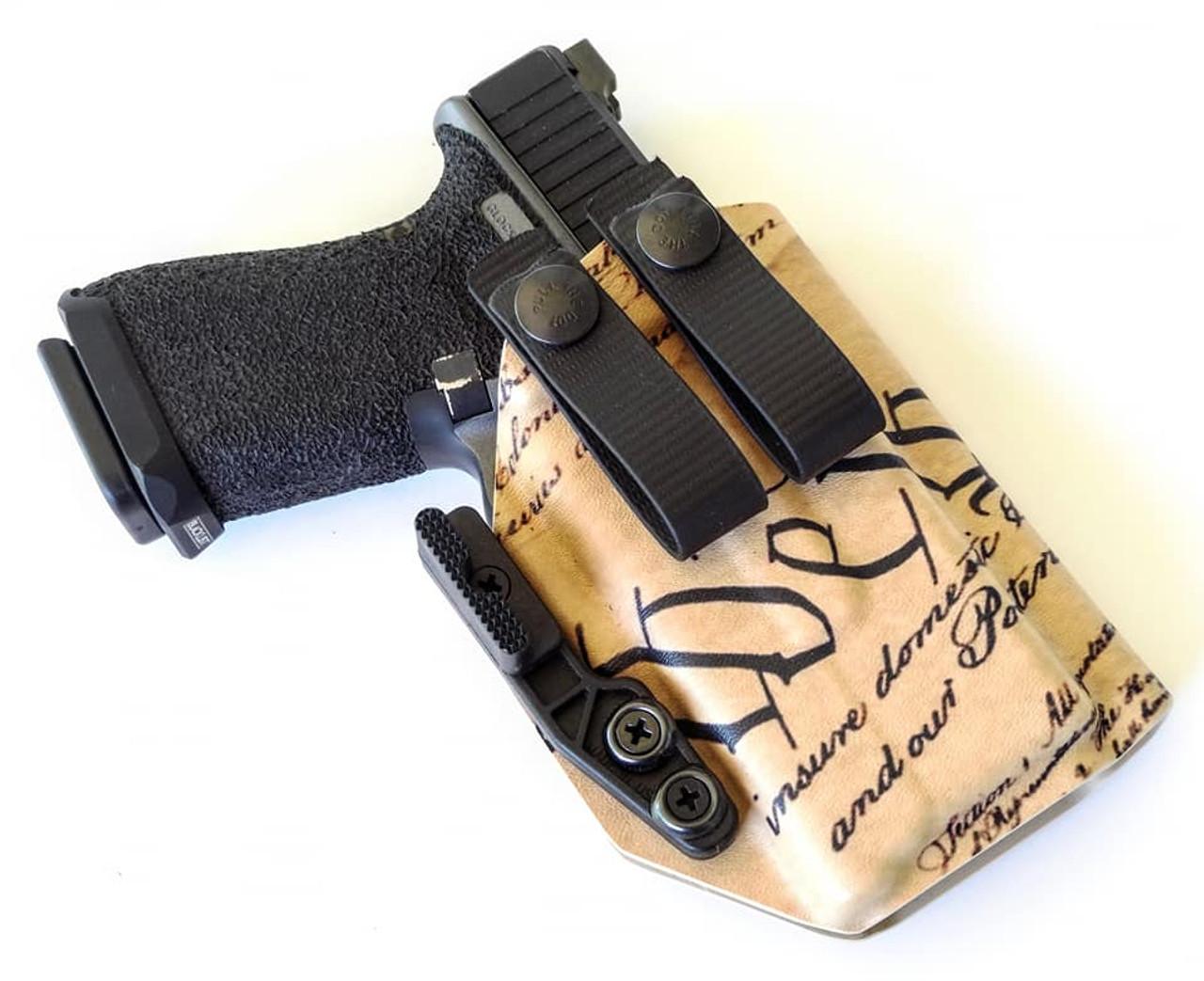 Glock 19 XC1 Appendix Carry Holster