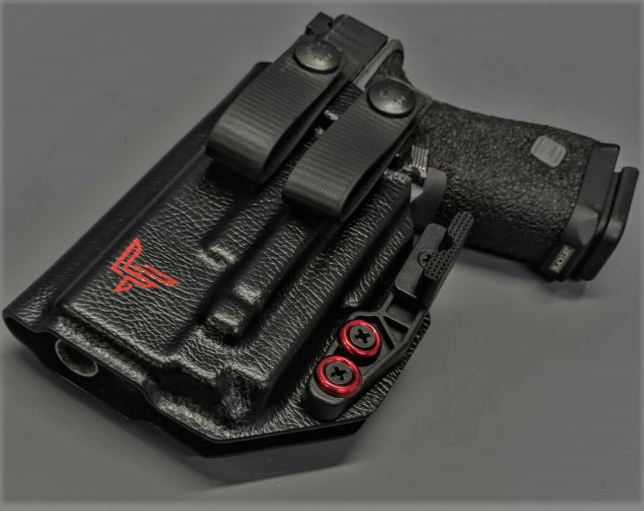 Glock 19 OLight PL Mini Appendix Carry Holster